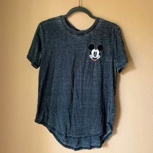 Mickey Mouse Scoop Neck T-Shirt
